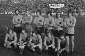 Nederland - België 0-0, 18 november 1973, Startende spelers Nederlands Elftal tegen België