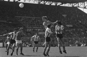 Rob Rensenbrink maakt 2-0, Nederland - Argentinië 4-1, 26 mei 1974