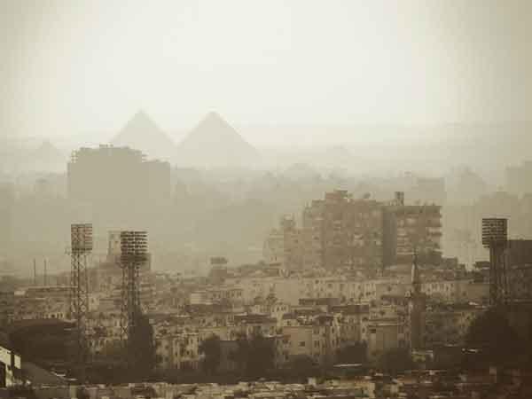 Steden met de meeste luchtvervuiling in de wereld