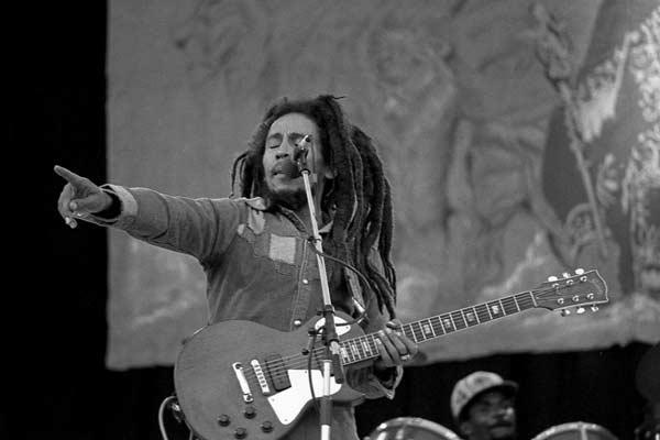 Over de 100 quotes van Bob Marley en fijne video's