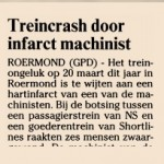 2003 Treinramp Roermond