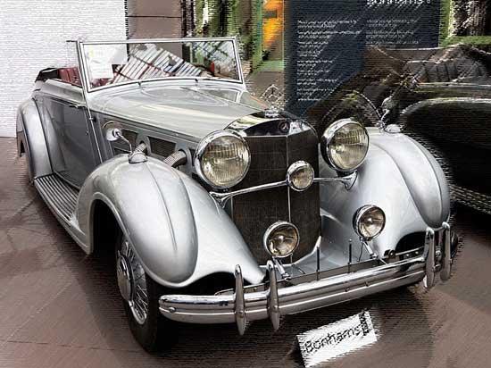 Mercedes-Benz 540K allerduurste auto's ter wereld