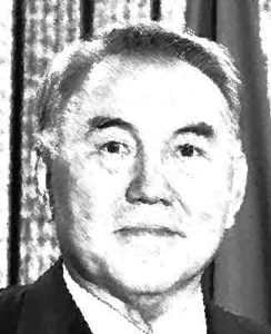 Noersoeltan Nazarbajev van Kazachstan Landen met een dictatuur