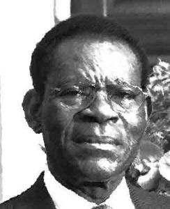 Teodoro Obiang Nguema Mbasogo van Equatoriaal-Guinea