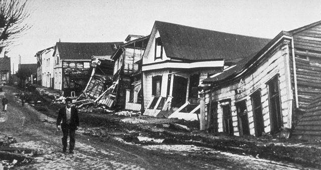 Valdivia na de aarbeving in 1960