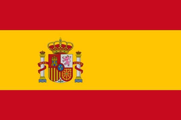 Vlag Spanje, Top 10 beste voetballanden van de wereld