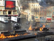 Walt Disney Studios Paris, de stuntshow Moteurs