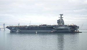 De USS Gerald R. Ford (CVN-78)