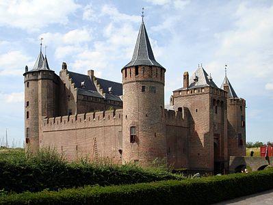 Het Muiderslot, De mooiste kastelen van Nederland, een top 25