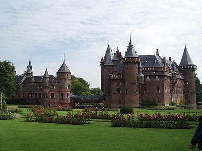 Kasteel de Haer, De mooiste kastelen van Nederland, een top 25