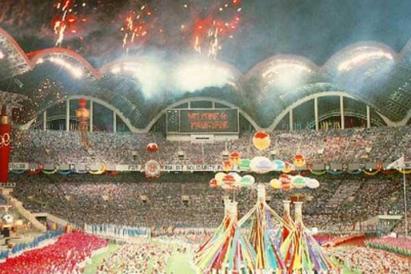 De top 10 grootste voetbalstadions ter wereld