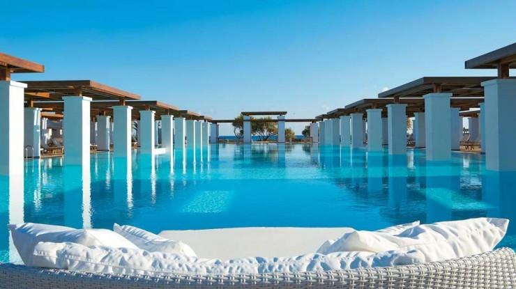De mooiste zwembaden ter wereld, de Top 10, Amirandes Grecotel Exclusive Resort, Kreta, Griekenland