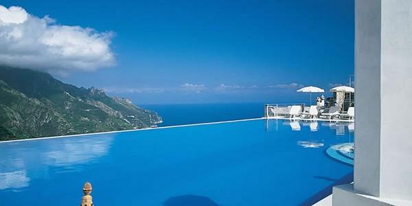 Caruso  -italië, mooiste zwembaden ter wereld