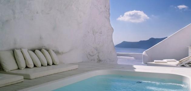 De mooiste zwembaden ter wereld, de Top 10, Katikies Hotel, Santorini, Griekenland