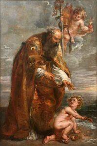 Augustinus door Peter Paul Rubens, ca. 1637