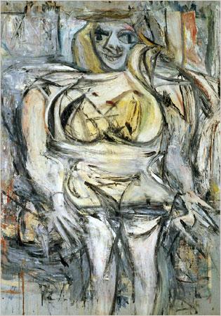 Willem de Kooning: Woman III (1953)