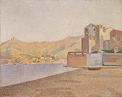 Paul Signac Collioure, best bewaarde steden uit de middeleeuwen