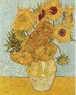 Vincent van Gogh - Zonnebloemen