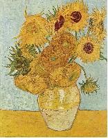 Vincent van Gogh 12 Zonnebloemen