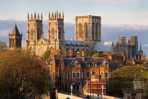 York Minster, best bewaarde steden uit de middeleeuwen
