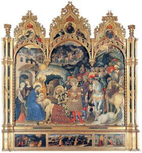 Gentile da Fabriano - Adorazione dei Magi / Adoration Of The Magi (1423 )