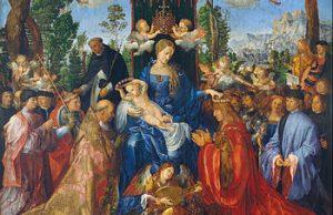Albrecht Durer - Feast Of The Rosary / Rosenkranzfest
