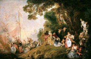 Antoine Watteau - Pilgrimage To Cythera