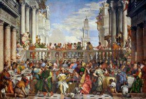 Paolo Veronese - De bruiloft te Kana / The Wedding At Cana (1563)