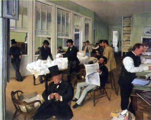 Edgar Degas - Le Bureau de coton à La Nouvelle-Orléans