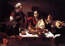 Caravaggio - Emmaüsgangers