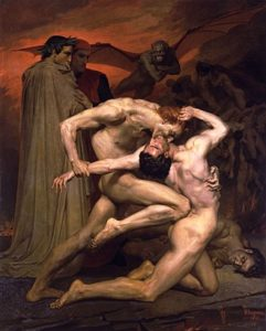 William-Adolphe Bouguereau - Dante And Virgil In Hell (1850)