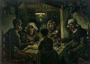 Vincent Van Gogh - De aaardappeleters / The Potato Eaters