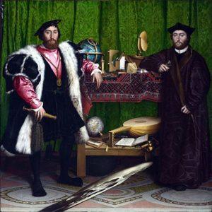 Hans Holbein de Jonge - De ambassadeurs / De Franse gezanten / The Ambassadors (1533)