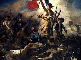 Eugene Delacroix - De Vrijheid leidt het volk