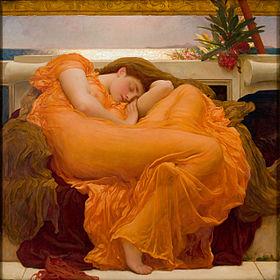 Frederic Leighton - Vlammende Juno