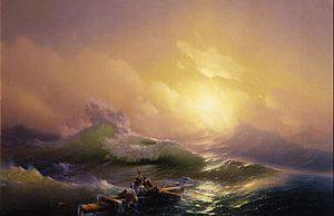 Ivan Aivazovsky - The Ninth Wave