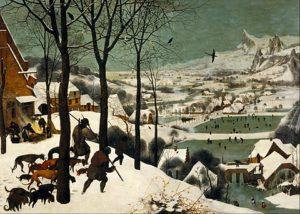 Pieter Bruegel de Oudere - Jagers in de sneeuw / Hunters In The Snow (1565)