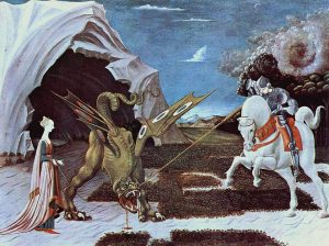 Paolo Uccello - St. George And The Dragon