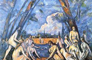 Paul Cezanne - De grote baadsters