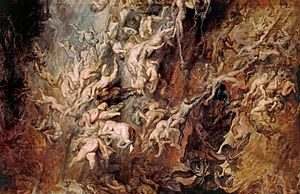 Peter Paul Rubens - The Fall Of The Damned