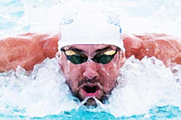 Phelps won meeste gouden medailles op Olympische Spelen (top 100)