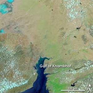 Oudste stad ter wereld gevonden, Golf van Khambat
