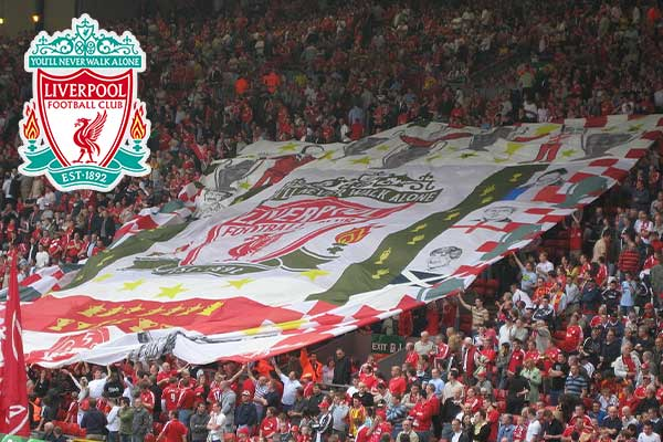 Beste voetbalclub van Engeland is Liverpool (de top 25 over 50 jaar)
