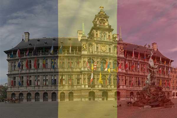 Grootste stad van België is Antwerpen (de top 25)