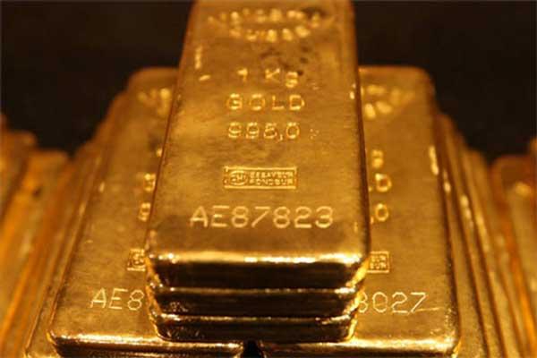 Grootste goud producerende land is China (de top 13)