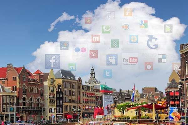 Meeste gebruikers van de cloud zijn te vinden in Denemarken