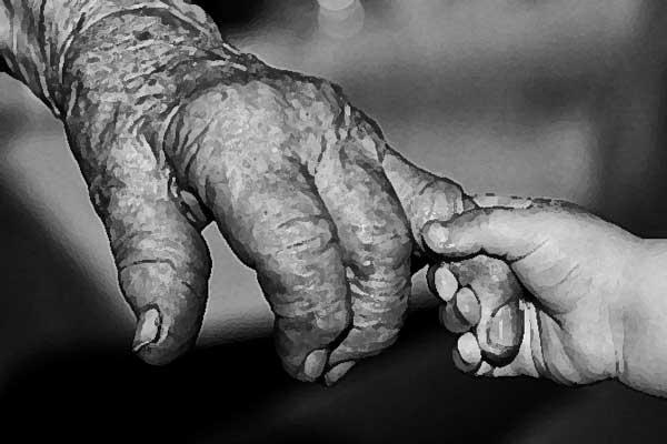Opa en oma die op de kinderen passen leven vijf jaar langer