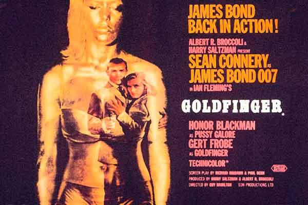 Beste James Bond song is Goldfinger (top 10)