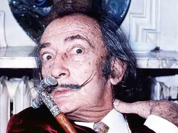 Meest excentrieke kunstenaar is Salvador Dali