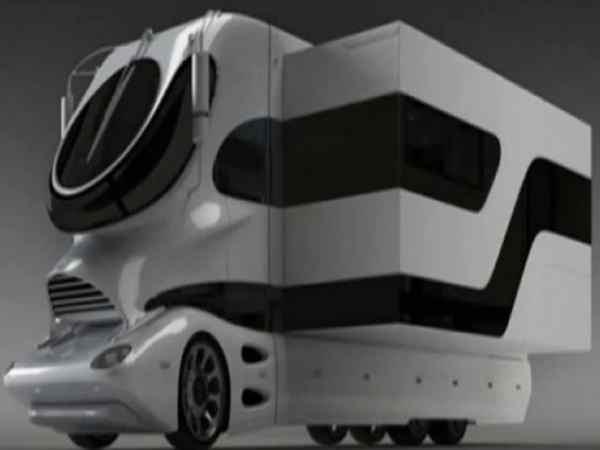 De meest luxe camper ter wereld voor $ 2 miljoen